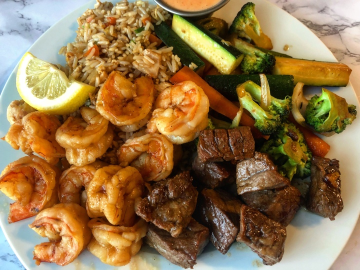Hibachi at Home (Glam-I-Hana Surf n Turf)