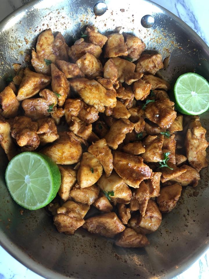 Chili Lime Chicken BreastBites