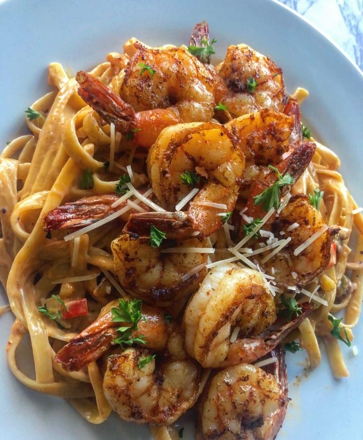 Chipotle Shrimp Pasta