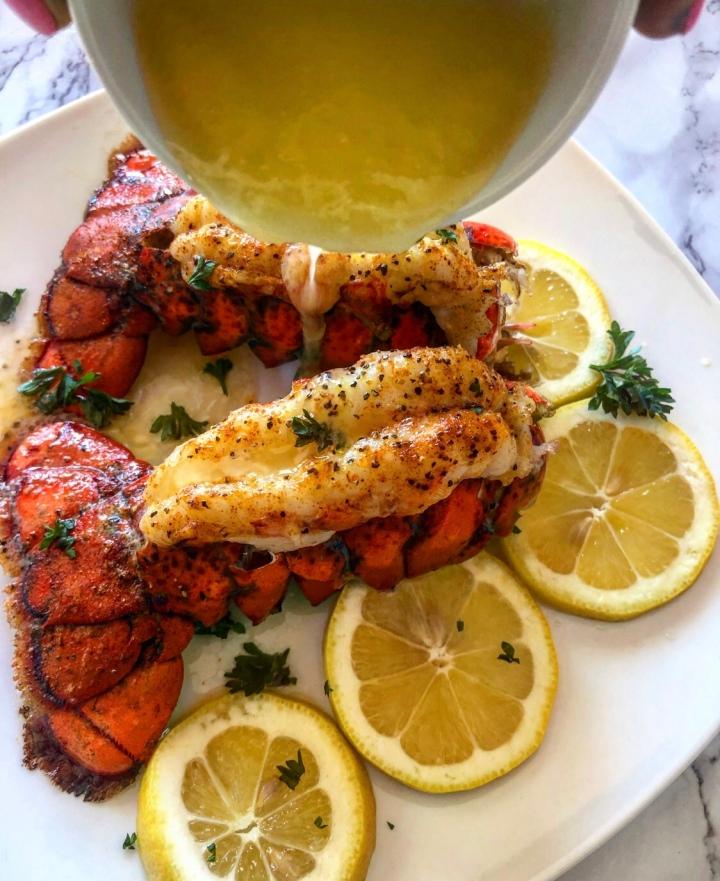 Lemon Butter LobsterTails